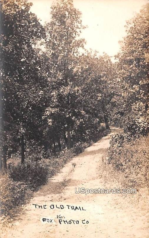 The Old Trail, Fox Photo - Misc, South Dakota SD Postcard