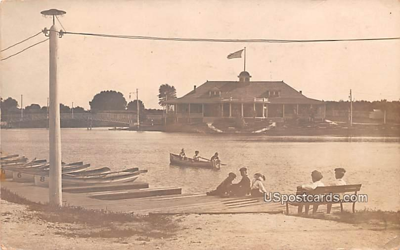Boat Scene - Misc, South Dakota SD Postcard