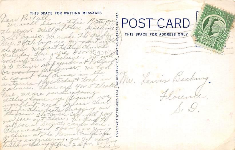 Presbyterian Church - Huron, South Dakota SD Postcard
