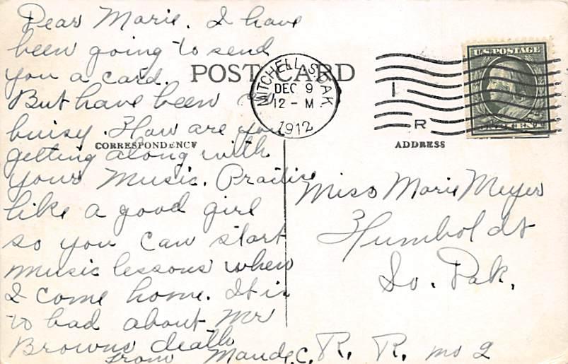 First Presbyterian Church - Sioux Falls, South Dakota SD Postcard