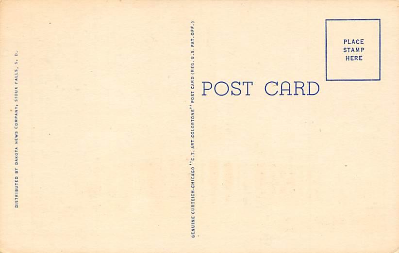 First Lutheran Church - Sioux Falls, South Dakota SD Postcard