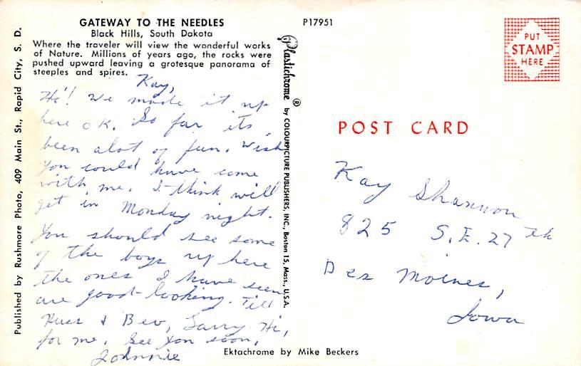 John Morrel and Co. Packing Plant - Sioux Falls, South Dakota SD Postcard