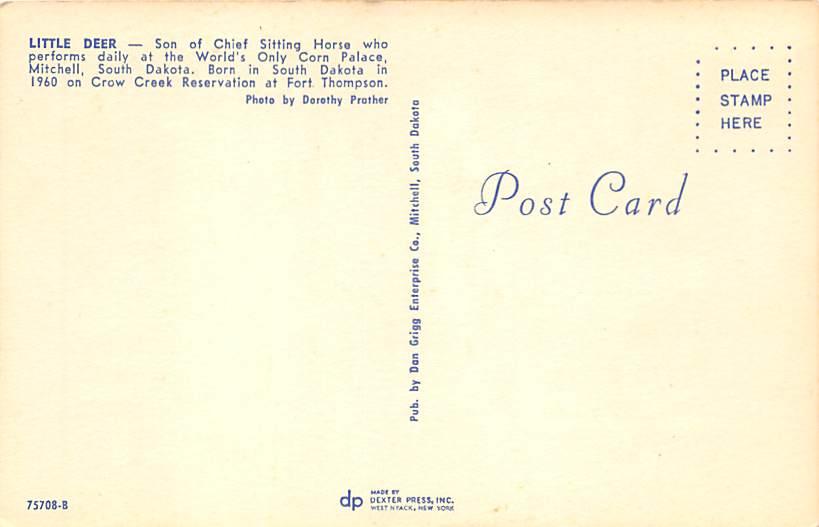 Mount Rushmore, South Dakota Postcard      ;      Mount Rushmore, SD