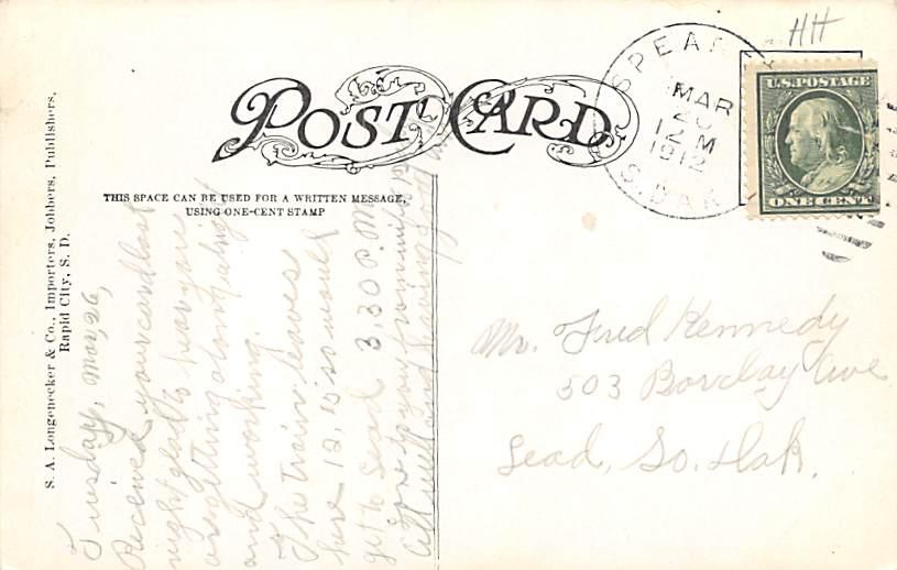Minnehaha County Court House - Sioux Falls, South Dakota SD Postcard