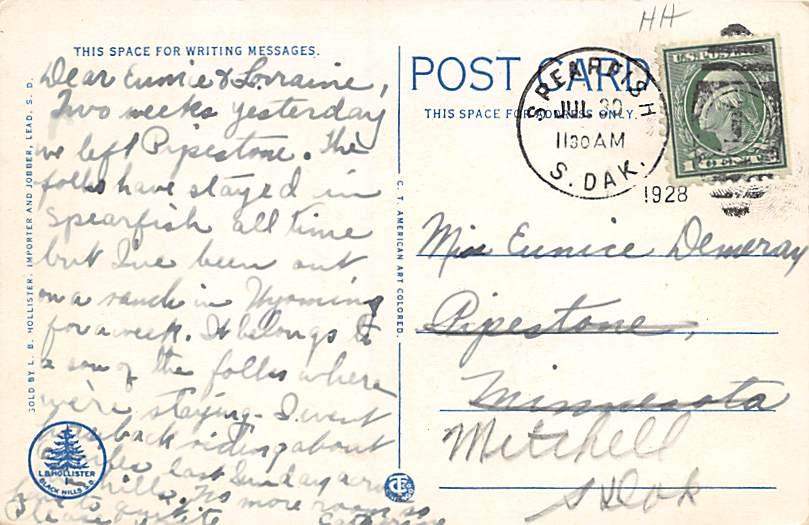 Sioux Falls, South Dakota Postcard      ;      Sioux Falls, SD