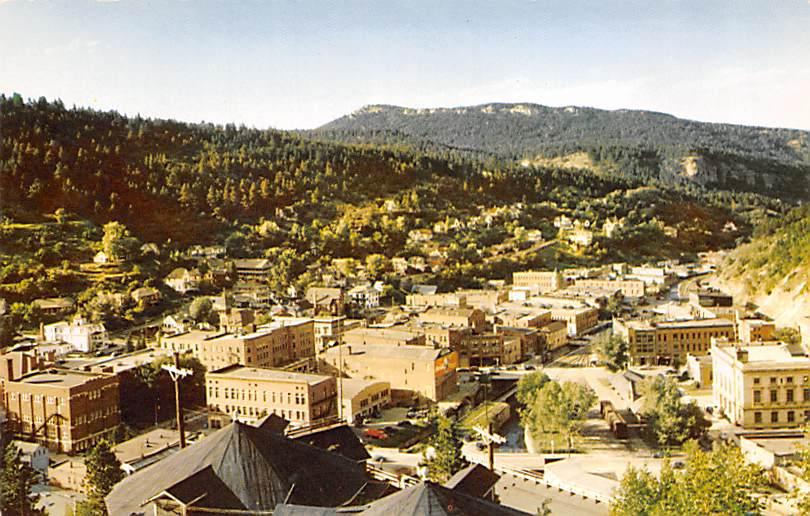 Phillips Avenue - Sioux Falls, South Dakota SD Postcard