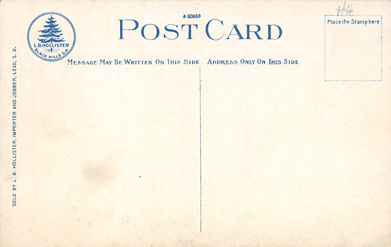 The Palisades - Sioux Falls, South Dakota SD Postcard
