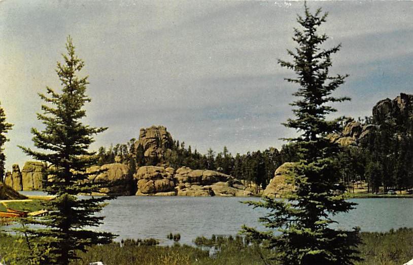 Big Sioux River - Sioux Falls, South Dakota SD Postcard