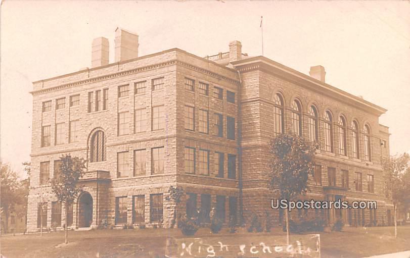 High School - Sioux Falls, South Dakota SD Postcard