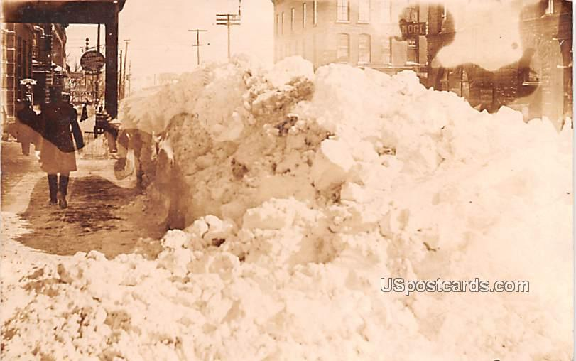 Winter Scene - Sioux Falls, South Dakota SD Postcard
