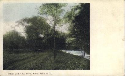 Jonas Lein City Park - Sioux Falls, South Dakota SD Postcard