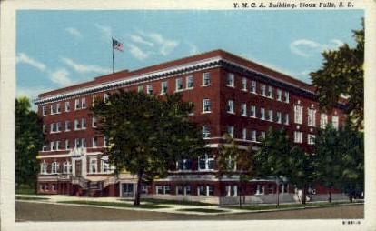 Y. M. C. A. Building - Sioux Falls, South Dakota SD Postcard