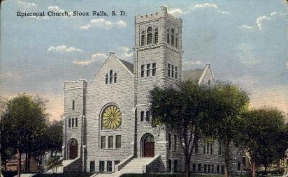 Episcopal Church - Sioux Falls, South Dakota SD Postcard