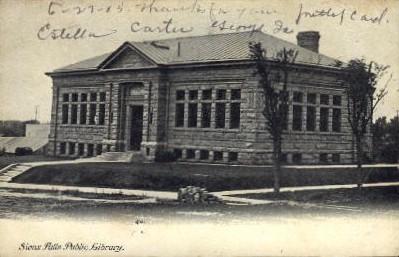 Public Library - Sioux Falls, South Dakota SD Postcard