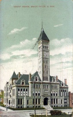 Court House - Sioux Falls, South Dakota SD Postcard