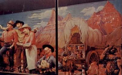 The Chuck Wagon 4 at Wall Drug - South Dakota SD Postcard