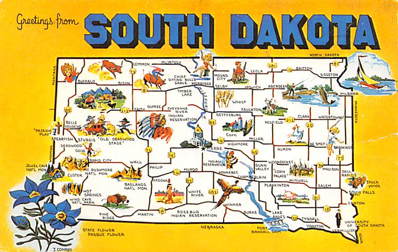 State Map SD