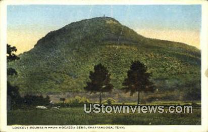 Lookout Mountain, Mocassin Bend - Chattanooga, Tennessee TN Postcard