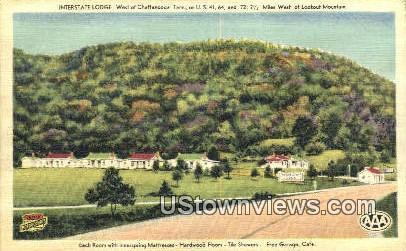 Interstate Lodge - Chattanooga, Tennessee TN Postcard