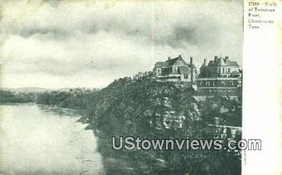 Bluffs of Tennessee River - Chattanooga Postcard