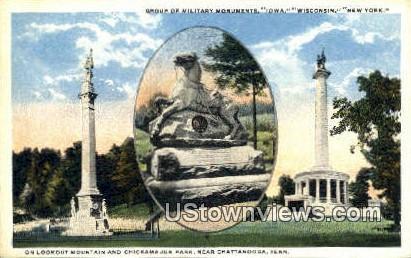 Chickamauga Park - Chattanooga, Tennessee TN Postcard