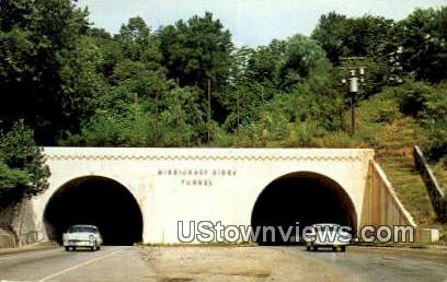 Missionary Ridge Tunnels - Chattanooga, Tennessee TN Postcard