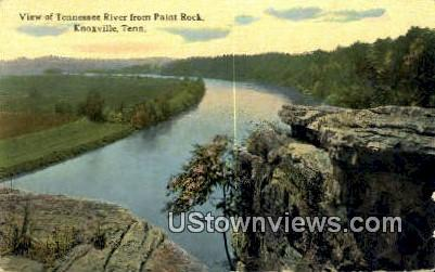 Paint Rock - Knoxville, Tennessee TN Postcard