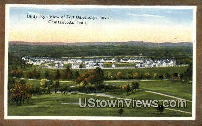 Fort Oglethorpe - Chattanooga, Tennessee TN Postcard