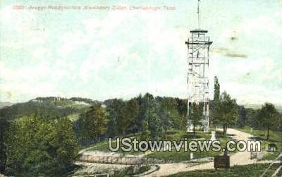 Braggs Headquarters Missionary Ridge - Chattanooga, Tennessee TN Postcard