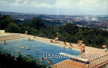 Pan-O-Ram Hotel - Chattanooga, Tennessee TN Postcard