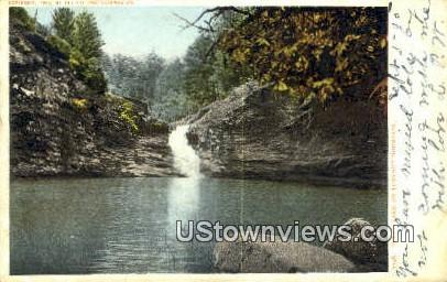 Lulah Lake - Lookout Mountain, Tennessee TN Postcard