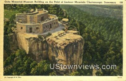 Ocha Memorial Museum Bldg - Chattanooga, Tennessee TN Postcard
