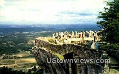 Lover's Leap, Rock City - Chattanooga, Tennessee TN Postcard