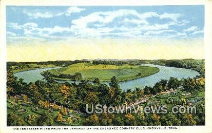 Tennessee River - Knoxville Postcard
