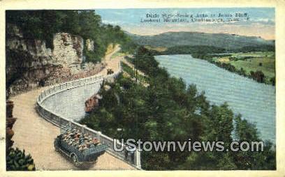 Jonas Bluff - Chattanooga, Tennessee TN Postcard