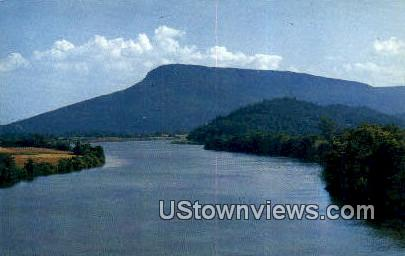 Tennessee River - Chattanooga Postcard