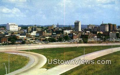 Downtown - Chattanooga, Tennessee TN Postcard