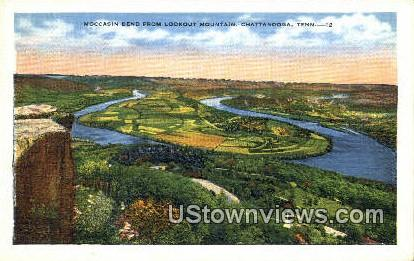 Moccasin Bend - Chattanooga, Tennessee TN Postcard