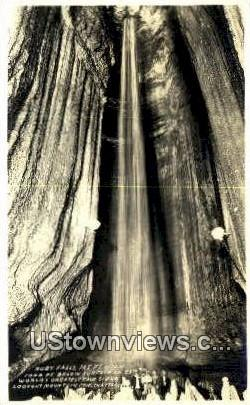 Real photo - Ruby Falls - Chattanooga, Tennessee TN Postcard