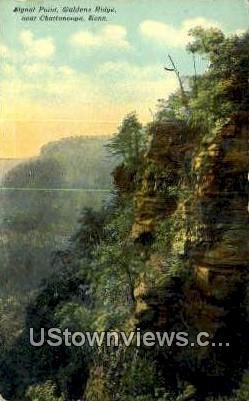 Signal Point, Waldens Ridge - Chattanooga, Tennessee TN Postcard