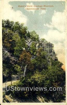 Roper's Rock - Chattanooga, Tennessee TN Postcard