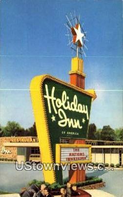 Holiday Inn - Chattanooga, Tennessee TN Postcard