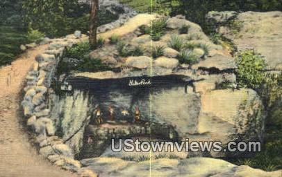 Shelter Rock, Rock City Gardens - Lookout Mountain, Tennessee TN Postcard
