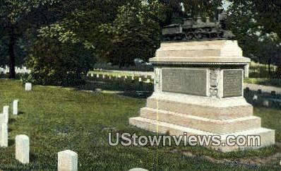 Andrew's Raiders National Cemetery - Chattanooga, Tennessee TN Postcard