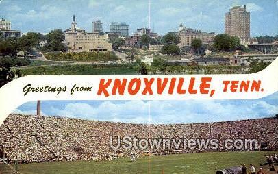 Knoxville, TN,, Knoxville, Tenn, Tennessee Postcard