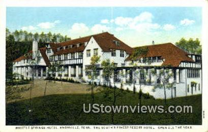 Whittle Springs Hotel - Knoxville, Tennessee TN Postcard