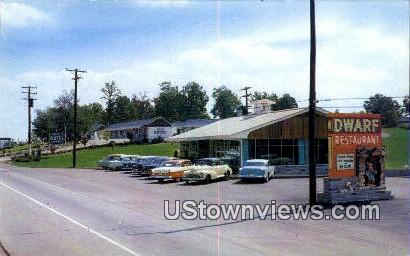 Tate Motel - Knoxville, Tennessee TN Postcard