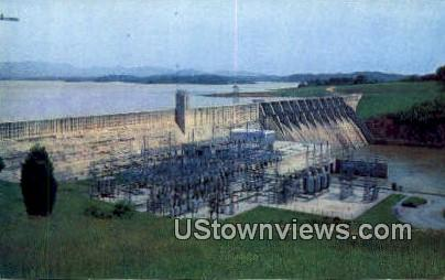 Douglas Dam - Knoxville, Tennessee TN Postcard