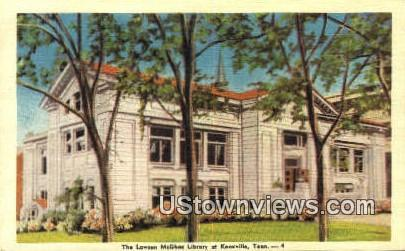 Lawson McGhee Library - Knoxville, Tennessee TN Postcard
