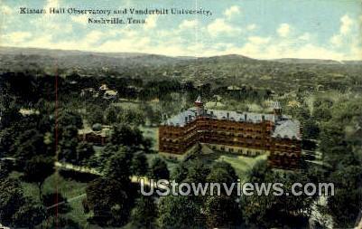 Kissam Hall Observatory - Nashville, Tennessee TN Postcard